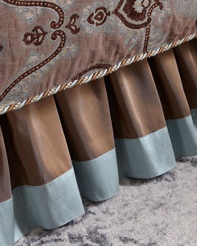 Brompton Court Silk Border Queen Dust Skirt