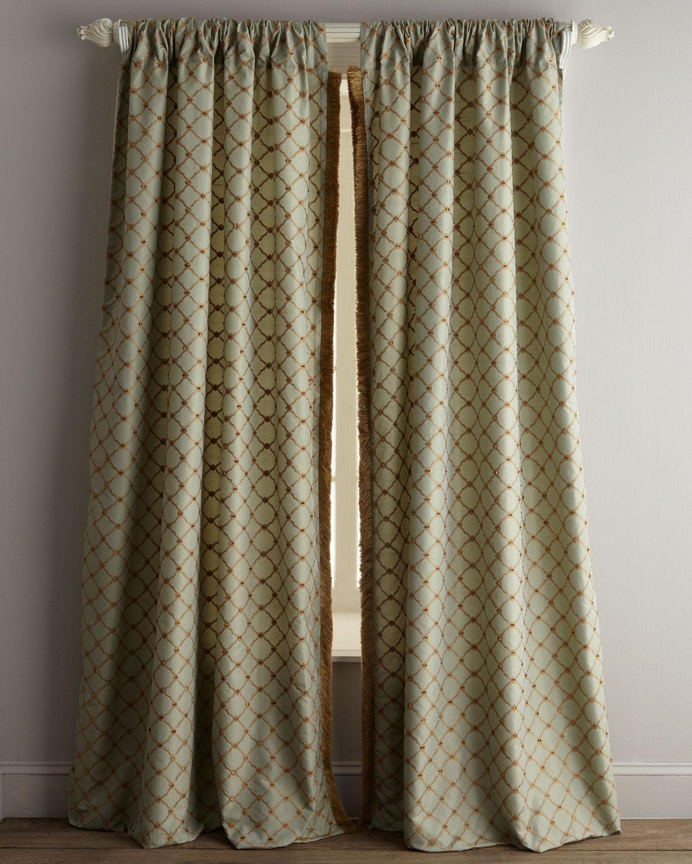Dian Austin Couture Home Each 96l Petit Trianon Trellis Curtain
