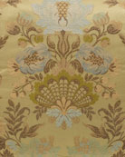 "Petit Trianon Floral Fabric, 3 yards x 54""W"