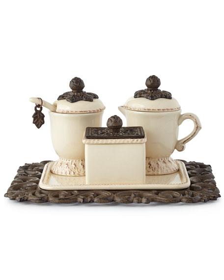 G G Collection Creamer & Sugar Set