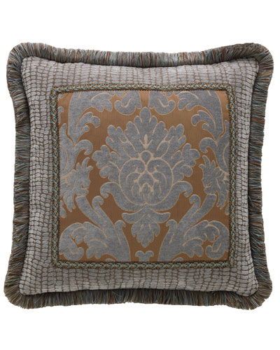 Bella Damask Pillow, 20