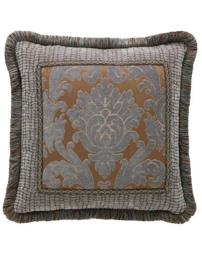Bella Damask Pillow, 20