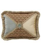 Villa di Como Rosette-Center Pillow