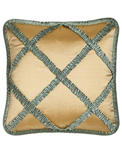 Villa di Como Lattice Pillow