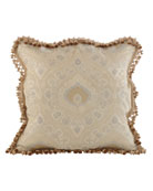 European Crystal Palace Medallion Sham