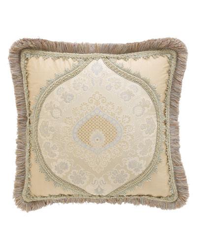 Crystal Palace Medallion-Center Pillow, 15