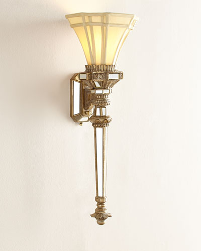 Fluted Wall Torch