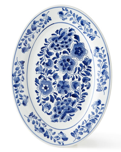 Traditional Oval Platter