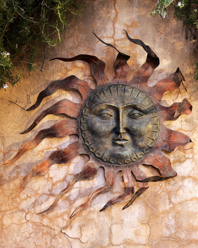 Sun Wall Decor
