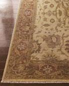 Latte Rust Oushak Rug & Matching Items
