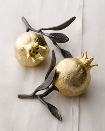 Michael Aram            Pomegranate Salt & Pepper Shakers -   		Tabletop - 	Neiman Marcus :  nature home neiman marcus salt and pepper shakers