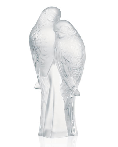 Two Parakeets Figure