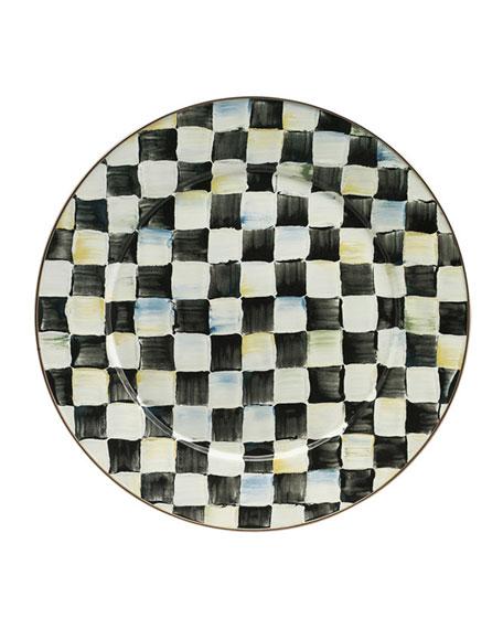 MacKenzie-Childs Courtly Check Platter