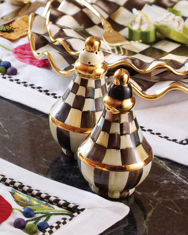 Courtly Check Salt & Pepper Shaker Set
