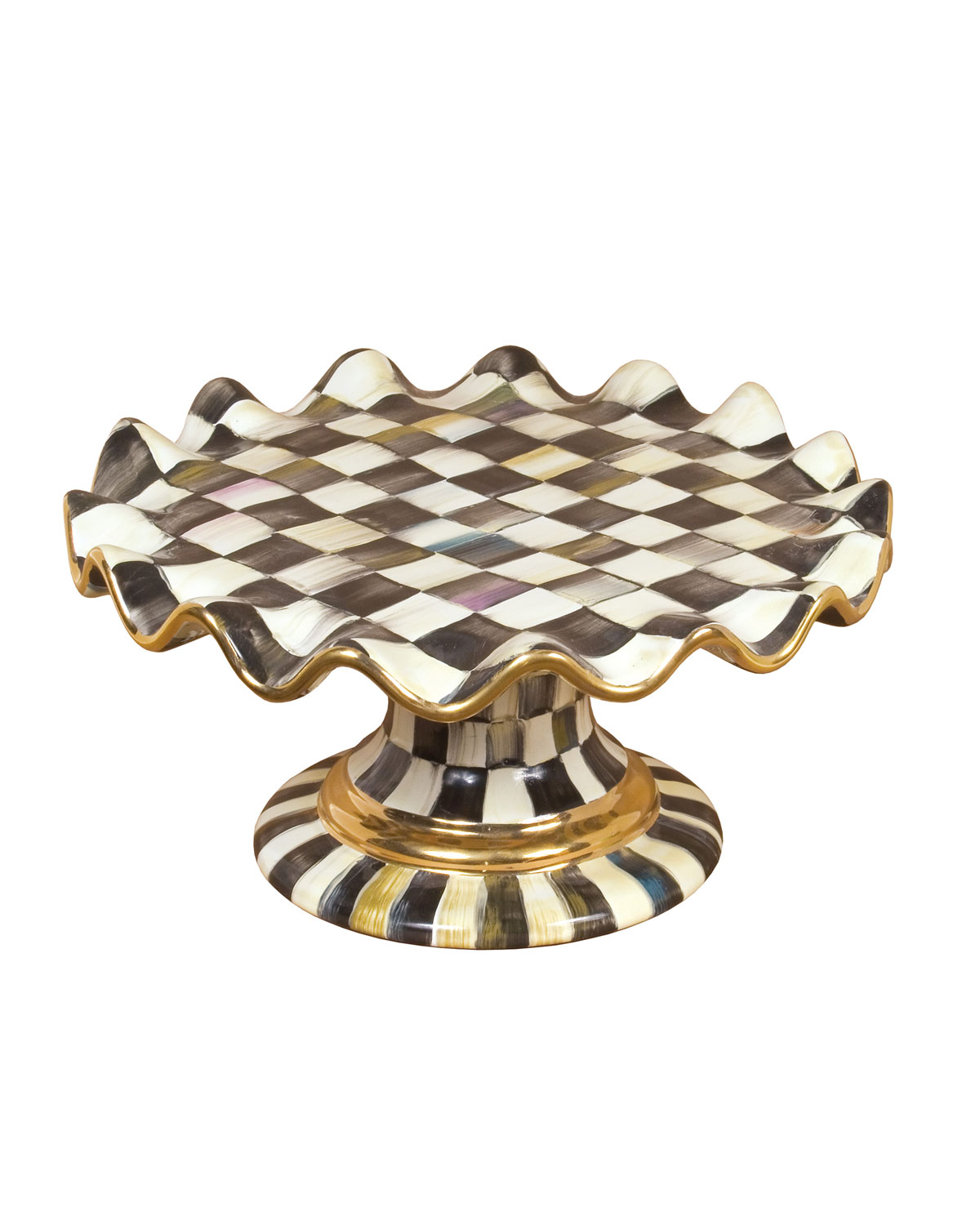Courtly Check Cake Stand
