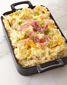 Twice-Baked Potato Casserole, For 8-10 People