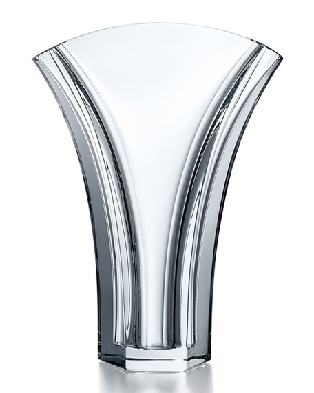 Baccarat Ginkgo Vase, Small