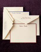 50 Personalized Correspondence Cards with Plain Envelopes