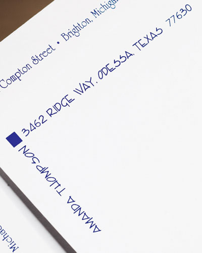 100 Style 2 Letter-Size Envelopes