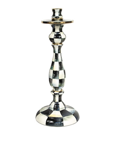 Large Courtly Check Candlestick