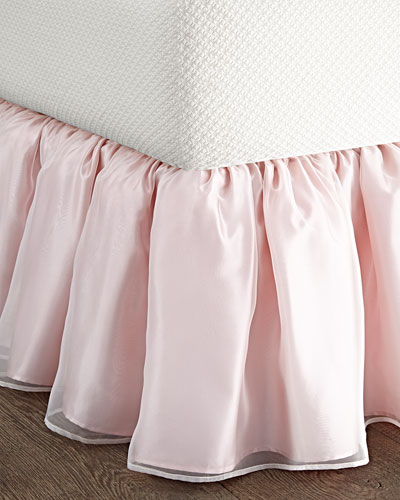 King Organza Dust Skirt