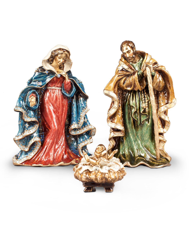 Three Figure Nativity Set