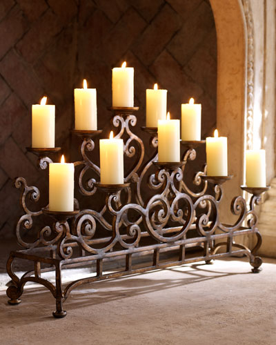 Medium Fireplace Candelabrum