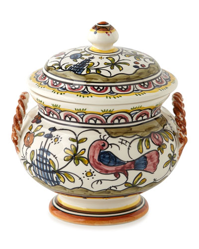 Each Pavoes Covered Soup Tureen