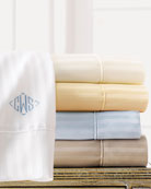 King 600 Thread Count Pima Stripe Sheet Set