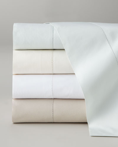 King Classic Hemstitch 400TC Sheet Set