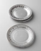 Arte Italica Vetro Silver Salad Plate