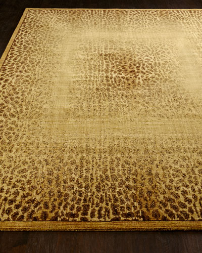 Leopard Shadow Rug, 3'6