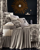 "Each Sydney Toile Bed Panel, 84""L x 50""W"