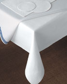 """68"""" Round Dining Table Pad"""