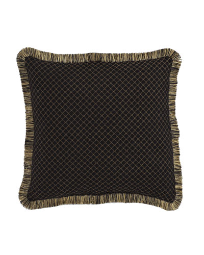 Diamond-Pattern Gustone Pillow, 19