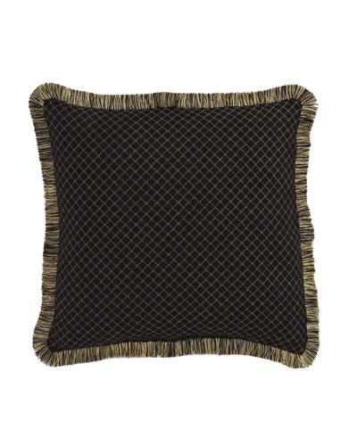 Diamond-Pattern Gustone Pillow, 19