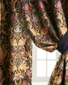 "Two 50""W x 108""L Gustone Curtains"