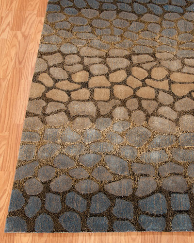 Jaded Pebbles Rug, 3'6