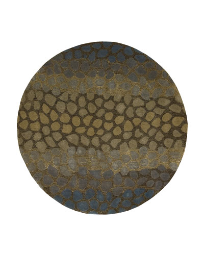 Jaded Pebbles Rug, 5'9
