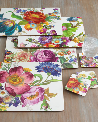 Four Flower Market Placemats