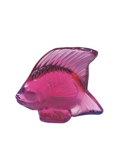 Fuchsia Angelfish Figurine