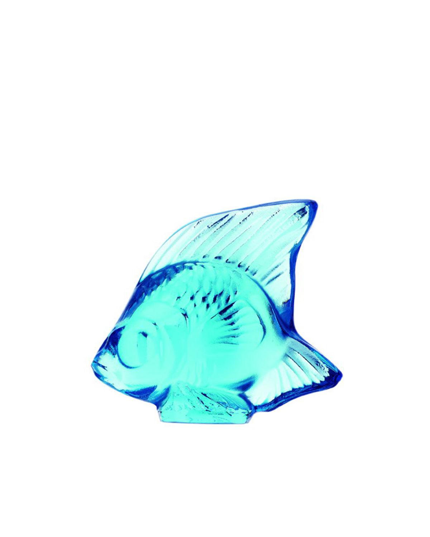 Lalique Clothing PALE BLUE FISH