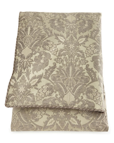 Queen Penthouse Suite Damask Duvet Cover