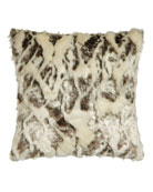 Penthouse Suite European Faux-Fur Sham