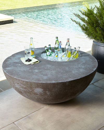 Outdoor Beverage Table