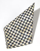 "Courtly Check Napkin with 0.5""Sq. Check Pattern"