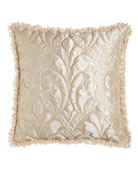 Each Neutral Modern Damask European Sham