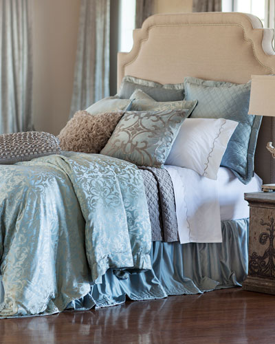 Jackie Queen Quilted Coverlet