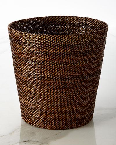 Woven Wastebasket
