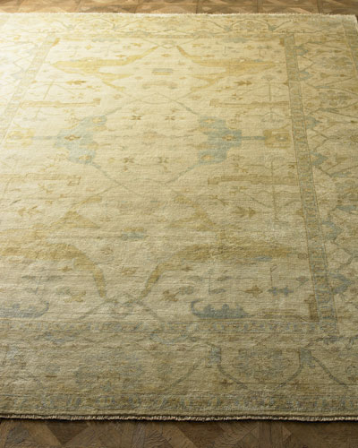 Meadow Oushak Rug, 8' x 10'